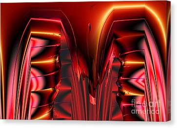 Pinned Canvas Print by Ron Bissett