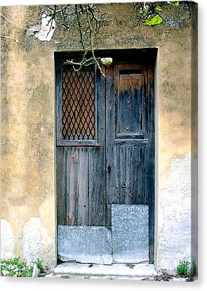 Pino's Door Canvas Print