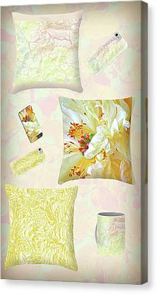 Canvas Print featuring the photograph Pinterest by Nareeta Martin