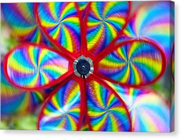 Pinwheel Canvas Print by Michal Boubin