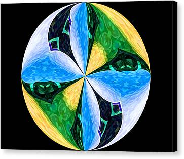 Pinwheel Canvas Print by Patric Carter