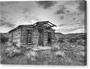 Pioneer Home - Nevada City Ghost Town Canvas Print by Daniel Hagerman