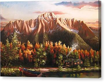 Pioneer Peek Canvas Print by Ryan L  Jones