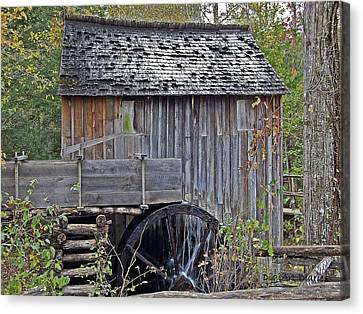 Pioneer Water Mill Canvas Print
