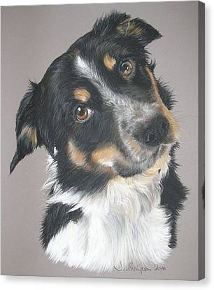 Pip Canvas Print by Joanne Simpson