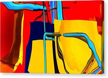 Pipe Dream Canvas Print by Richard Rizzo