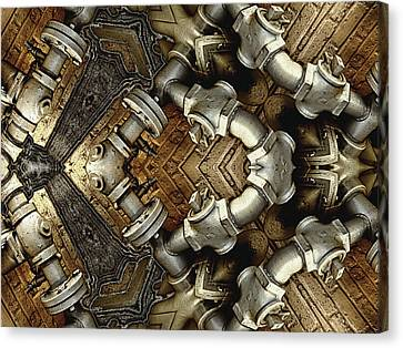 Pipe Dreams Canvas Print by Wendy J St Christopher