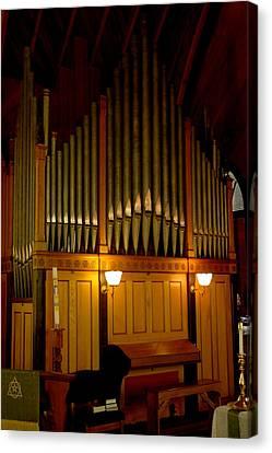 Pipe Organ Canvas Print by LeeAnn McLaneGoetz McLaneGoetzStudioLLCcom