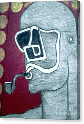 Pipe Canvas Print by Ramesh Babu