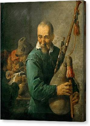 1690 Canvas Print - Piper by Celestial Images