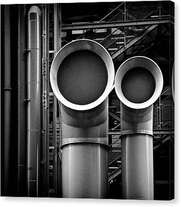 Pipes Canvas Print by Dave Bowman