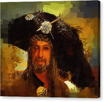 Pirate Canvas Print by Clarence Alford