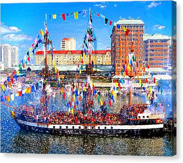 Pirate Colors Canvas Print