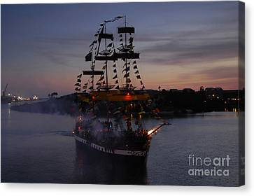 Pirate Invasion Canvas Print by David Lee Thompson
