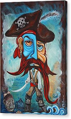 Pirate Canvas Print by Laura Barbosa