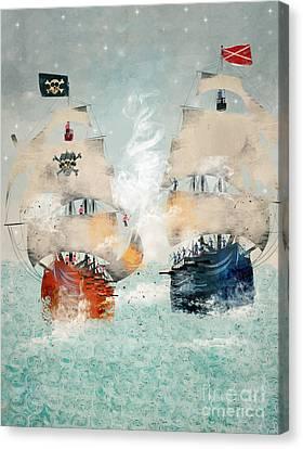 Pirates Ahoy Canvas Print by Bri B
