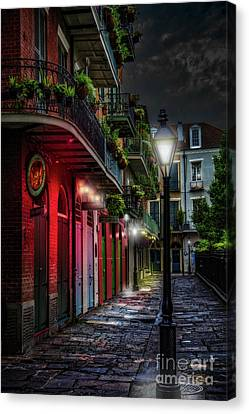 Pirate's Alley Canvas Print by Jarrod Erbe
