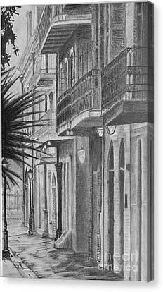 Pirates Alley Canvas Print by Ralph Duncan