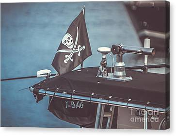 Pirates Of Gloucester Canvas Print by Claudia M Photography