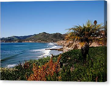 Pismo Beach California Canvas Print by Susanne Van Hulst