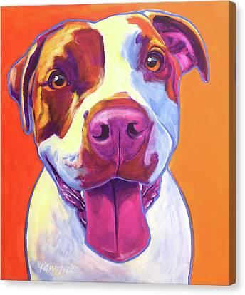 Pit Bull - Gemma Canvas Print