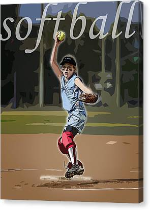 Pitcher Canvas Print by Kelley King