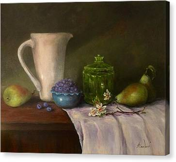 Pitcher Of Health Canvas Print