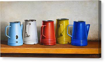 Old Pitcher Canvas Print - Pitchers by Horacio Cardozo