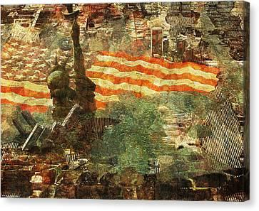 Pitfall Canvas Print by Haruo Obana
