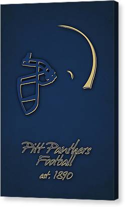 Pitt Panthers Canvas Print by Joe Hamilton