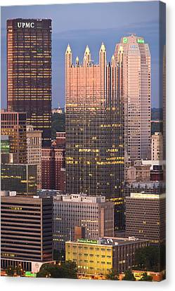 Pittsburgh 19  Canvas Print by Emmanuel Panagiotakis