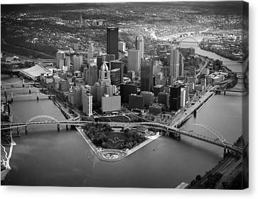 Pittsburgh 8 Canvas Print by Emmanuel Panagiotakis