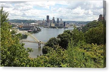 Pittsburgh Series 2  Canvas Print