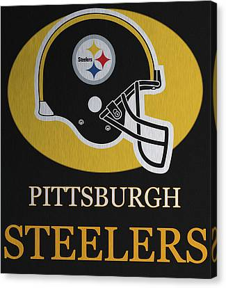 Pittsburgh Steelers Metal Sign Canvas Print