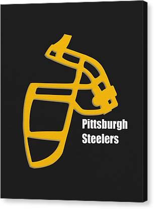 Pittsburgh Steelers Retro Canvas Print