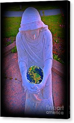 Pity And Sorrow For Such A World Canvas Print by John Malone