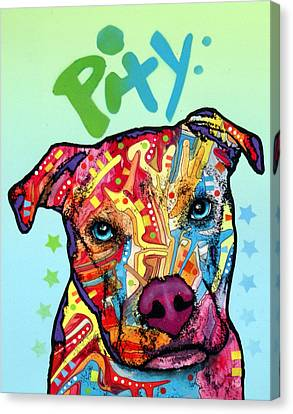 Pity Canvas Print