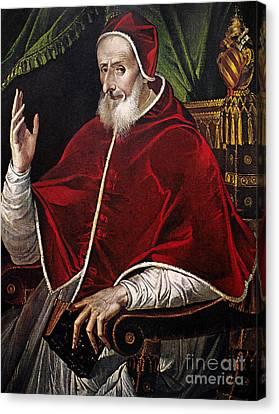 Pius V (1504-1572) Canvas Print by Granger