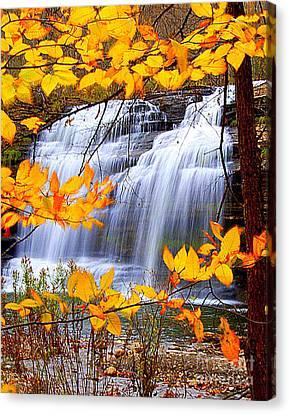 Pixley Falls Canvas Print