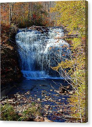 Canvas Print featuring the photograph Pixley Falls State Park by Diane E Berry