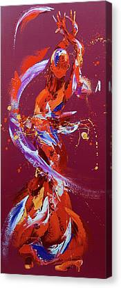 Pizazz Canvas Print by Penny Warden