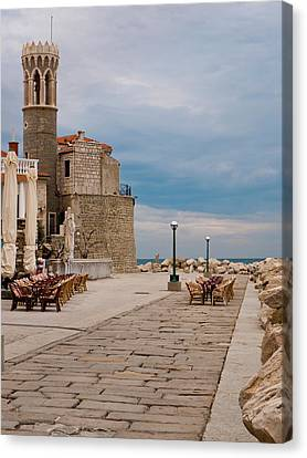 Place By The Sea Canvas Print by Rae Tucker