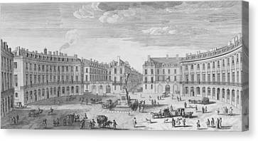 Place Des Victoires Canvas Print by Jacques Rigaud