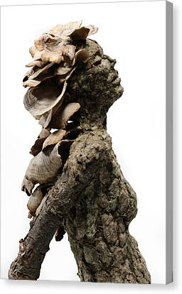 Placid Efflorescence A Sculpture By Adam Long Canvas Print by Adam Long