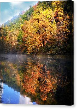 Placid Morning Canvas Print by Marty Koch