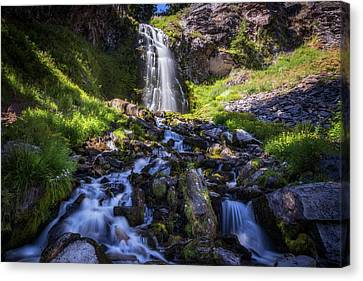 Crater Lake National Park Canvas Print - Plaikni Falls by Cat Connor