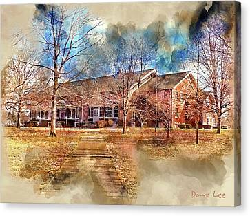 Plainfield Friends Meeting - A Quaker Church Canvas Print