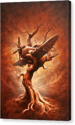 Abstract Canvas Print - Plane Old Tree by Victor Whitmill