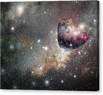 Canvas Print - Planet Love by Ron Morecraft