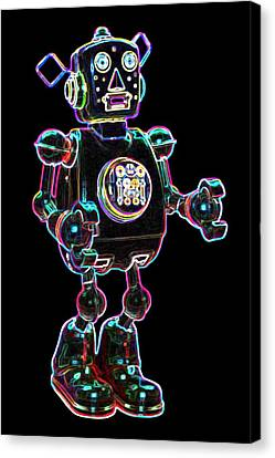 Planet Robot Canvas Print by DB Artist